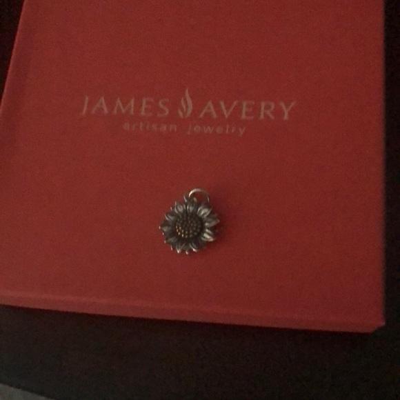 James  Avery sunflower charm